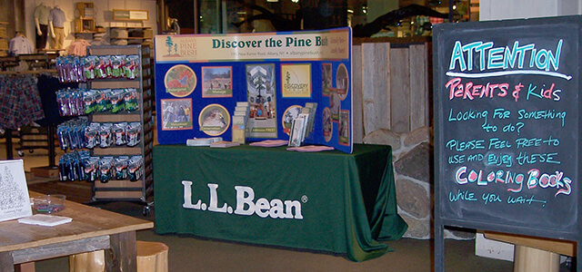 Table at LLBean