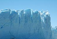 Glacier and sky