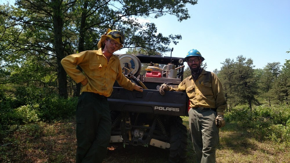 2017 Albany Pine Bush Preserve Prescribed Fire