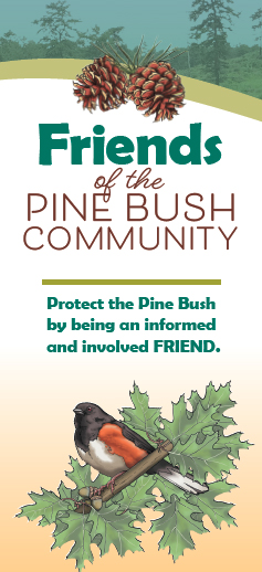 Cover of the Friends of the Pine Bush Community brochure